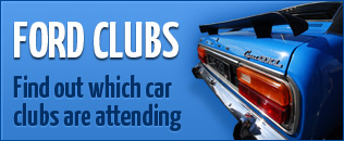 Which Car Clubs are attending Ford Day Blackpool